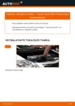 Kaip pakeisti Toyota Auris E15 uždegimo žvakių - keitimo instrukcija