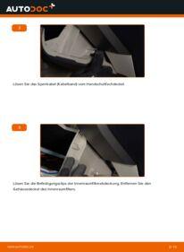 Wie der Wechsel durchführt wird: Innenraumfilter 1.5 (NHW2_) Toyota Prius 2 tauschen
