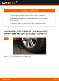 Wie der Wechsel durchführt wird: Koppelstange 2.0 D Volvo V50 Kombi tauschen