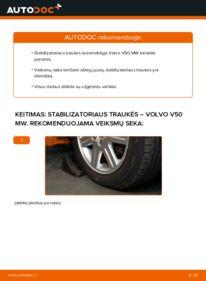 Kaip atlikti keitimą: 2.0 D Volvo v50 mw Pasukimo trauklė