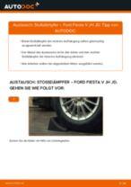 TOYOTA HIGHLANDER (GSU7_, AXUH7_) Bremsbeläge wechseln vorderachse und hinterachse Anleitung pdf