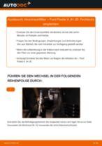 Innenraumfilter FORD Fiesta Mk5 Schrägheck (JH1, JD1, JH3, JD3) | PDF Wechsel Tutorial