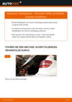 Auswechseln Lagerung Achskörper MERCEDES-BENZ B-CLASS: PDF kostenlos