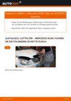 Schritt-für-Schritt-PDF-Tutorial zum Verschleißanzeige Bremsbeläge-Austausch beim Mazda 3 BK