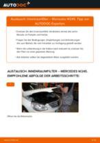 MERCEDES-BENZ 190 Scheibenwischermotor wechseln Heck und Frontscheibe Anleitung pdf