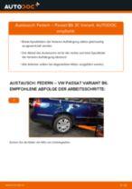 Wie VW Passat 3C B6 Variant Federn hinten wechseln - Schritt für Schritt Anleitung