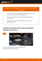 VW PASSAT Variant (3C5) Scheibenbremsbeläge: Online-Anweisung zum selbstständigen Ersetzen
