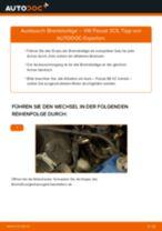 VW PASSAT Variant (3C5) Bremsbeläge vorderachse und hinterachse austauschen: Anweisung pdf