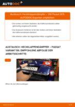 Wie VW Passat 3C B6 Variant Heckklappendämpfer wechseln - Schritt für Schritt Anleitung