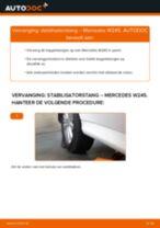 Hoe stabilisatorstang achteraan vervangen bij een Mercedes W245 – Leidraad voor bij het vervangen