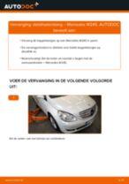 Hoe stabilisatorstang vooraan vervangen bij een Mercedes W245 – Leidraad voor bij het vervangen