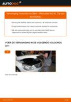 Hoe motorolie en filter vervangen bij een Mercedes W245 – Leidraad voor bij het vervangen