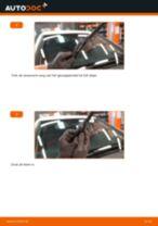 Hoe ruitenwissers vooraan vervangen bij een Mercedes W245 – Leidraad voor bij het vervangen
