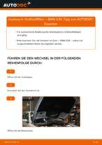 Wie BMW E39 Kraftstofffilter wechseln - Anleitung