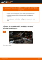 Installation von Motorölfilter BMW 5 (E39) - Schritt für Schritt Handbuch