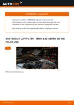 Wie BMW E39 Luftfilter wechseln - Anleitung