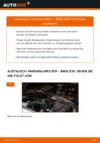 Wie BMW E39 Innenraumfilter wechseln - Anleitung