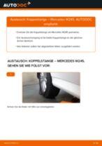 MERCEDES-BENZ Stabistange hinten links selber wechseln - Online-Anweisung PDF