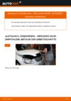 Zündkerzen selber wechseln: Mercedes W245 - Austauschanleitung