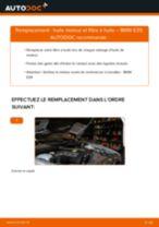 Manuel en ligne pour changer vous-même de Filtre à Huile sur BMW 5 (E39)