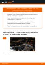 Notre guide PDF gratuit vous aidera à résoudre vos problèmes de BMW BMW E39 Touring 525i 2.5 Filtre à Air