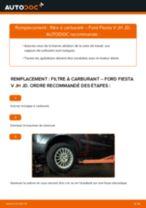 Remplacement de Support, suspension du stabilisateur sur Toyota Yaris NCP 15 : trucs et astuces