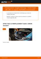 Tutoriel PDF étape par étape sur le changement de Bouchon de Carter d'Huile sur VW Pointer