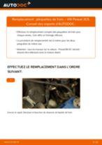 Comment changer : plaquettes de frein avant sur VW Passat 3C B6 Variant - Guide de remplacement