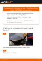 Comment changer : mâchoires de frein arrière sur Opel Corsa C - Guide de remplacement