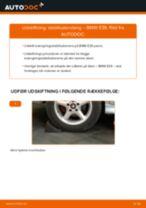 Udskift stabilisatorstang bag - BMW E39   Brugeranvisning