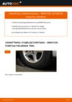 Udskift stabilisatorstang for - BMW E39   Brugeranvisning
