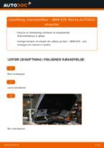 Udskift brændstoffilter - BMW E39   Brugeranvisning