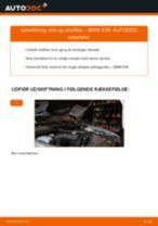 Udskift motorolie og filter - BMW E39   Brugeranvisning
