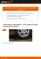 Udskift støddæmper bag - Opel Zafira F75 | Brugeranvisning