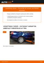 Udskift fjeder bag - VW Passat 3C B6 Variant   Brugeranvisning