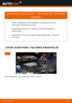 Udskift bremseklodser bag - VW Passat 3C B6 Variant | Brugeranvisning
