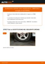 Come cambiare biellette barra stabilizzatrice della parte posteriore su BMW E39 - Guida alla sostituzione