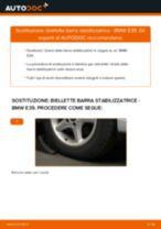 Come cambiare biellette barra stabilizzatrice della parte anteriore su BMW E39 - Guida alla sostituzione