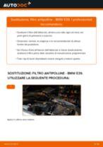 Come cambiare filtro antipolline su BMW E39 - Guida alla sostituzione