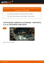 Come cambiare candele di accensione su Ford Fiesta V JH JD - Guida alla sostituzione