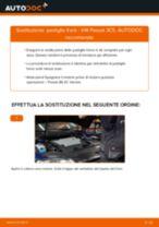 Come cambiare pastiglie freno della parte posteriore su VW Passat 3C B6 Variant - Guida alla sostituzione