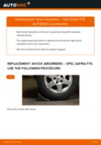 Auto mechanic's recommendations on replacing OPEL Opel Zafira B 1.8 (M75) Springs