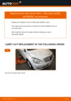 Replacing Anti roll bar stabiliser kit on MERCEDES-BENZ B-CLASS (W245) - tips and tricks