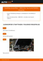 Slik bytter du drivstoffilter på en BMW E39 – veiledning