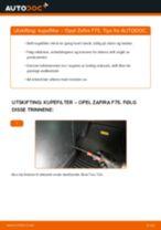 Slik bytter du kupefilter på en Opel Zafira F75 – veiledning