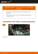 Mekanikerens anbefalinger om bytte av FORD Ford Fiesta Mk6 1.4 TDCi Kupefilter