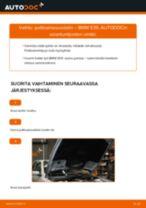 Kuinka vaihtaa polttoainesuodatin BMW E39-autoon – vaihto-ohje