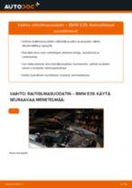 Kuinka vaihtaa raitisilmasuodatin BMW E39-autoon – vaihto-ohje