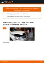 Kuinka vaihtaa sytytystulpat Mercedes W245-autoon – vaihto-ohje