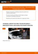 Jak zmienić Amortyzatory MERCEDES-BENZ B-CLASS: darmowy pdf